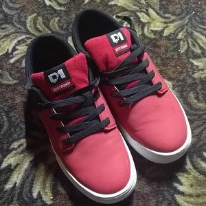 Destrongi - Red and Black Sneakers